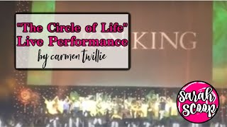 """The Circle of Life"" live performance by Carmen Twillie at D23's ""The Lion King"" panel"