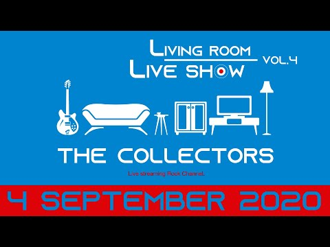 """THE COLLECTORS streaming rock channel """"LIVING ROOM LIVE SHOW"""" Vol.4 trailer"""