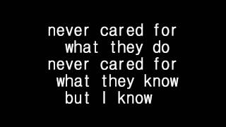Metallica - Nothing else matter lyrics