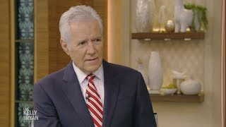 """Alex Trebek Shares What He Would Say on His Final Day at """"Jeopardy"""""""