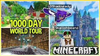 1000 Day Minecraft World Tour ft @LDShadowLady (Plus World Download)