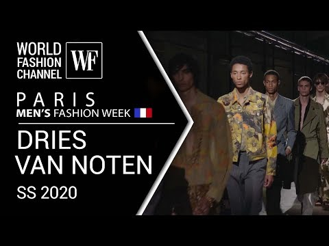 DRIES VAN NOTEN / PARIS MEN'S FASHION WEEK SPRING-SUMMER 2020_
