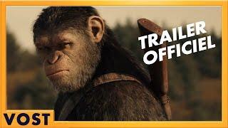 La planète des singes :  bande-annonce VOST