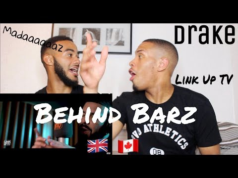Drake - Behind Barz | Link Up TV - REACTION!