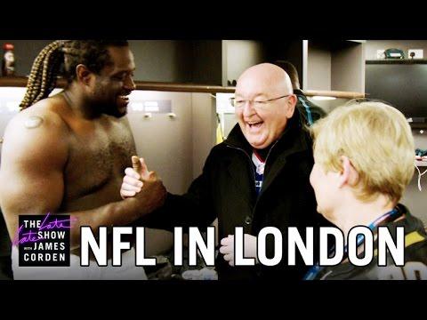 James Corden's Parents Explore the NFL