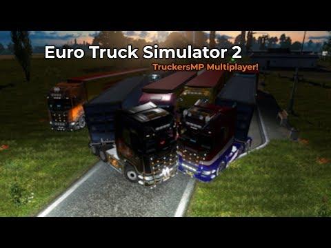 Euro Truck Simulator 2 - TruckersMP (Opname 06/09/2018)