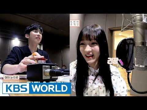 IDOT members, B1A4 Jinyoung's song recording day! [ENG/CHN/Ep.3]