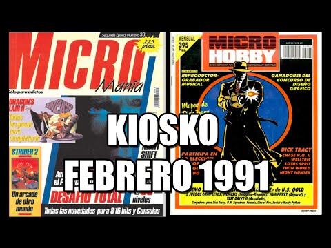 MICROMANIA MICROHOBBY FEBRERO 1991
