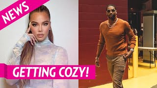 Khloe Kardashian, Tristan Thompson Look Awfully Cozy at Friend's Party