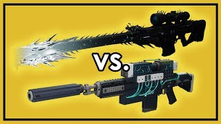 Destiny 2: How Good is Whisper of The Worm - Damage Comparison