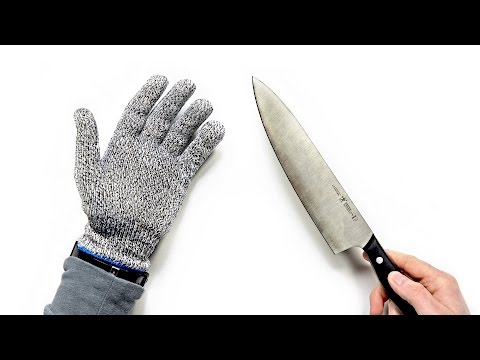 video Cut Resistant Gloves