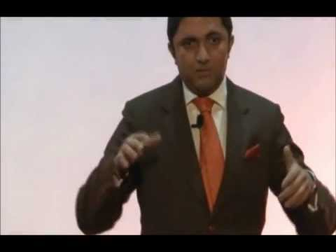 Keynote Leadership Speaker in India Akash Gautam inspiring students of IIT-Kanpur at TEDx
