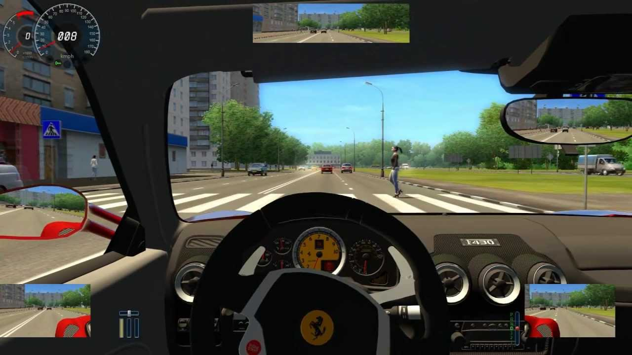ferrari f430 fast driven city car driving simulator hd gameplay youtube. Black Bedroom Furniture Sets. Home Design Ideas