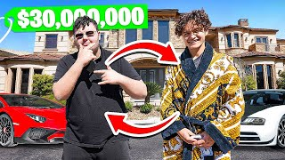Switching Lives With a Billionaire Kid for 24 Hours (Richest Kid in America)