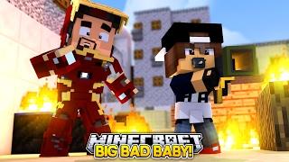 Minecraft Adventure - IRONMAN TURNS JACK INTO A BABY!!