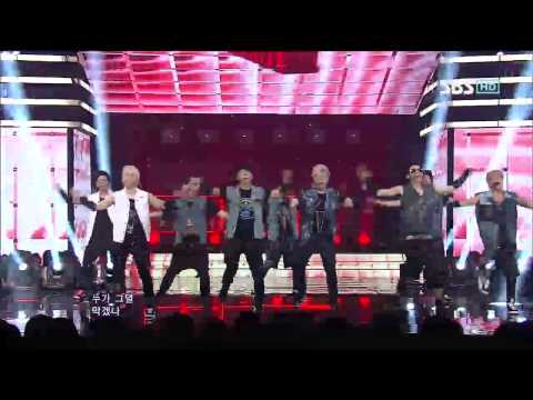 슈퍼주니어 [Sexy Free & Single] @SBS Inkigayo 인기가요 20120729
