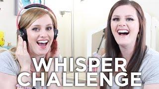 Whisper Challenge!! (Ellie and Bonnie)