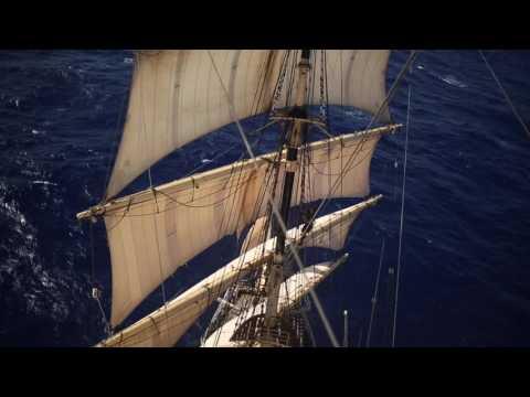 Skoleskibet DANMARK - The Island - Olympic Voyage 2016