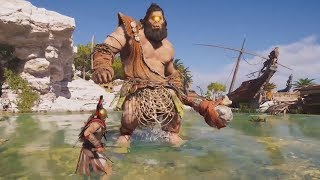 Assassin's Creed Odyssey DLC - New Mythical Creature FIRST TRY, Live Event & More! (AC Odyssey DLC)