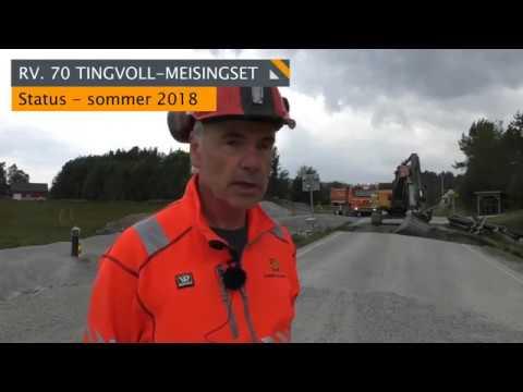 Statens vegvesen - Tingvoll-Meisingset juni 2018