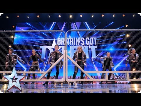 Tap Attack show us their fancy footwork!   Auditions   BGT 2018