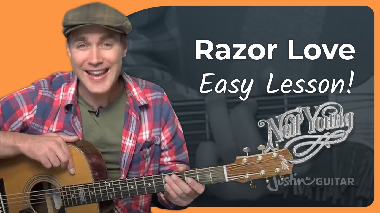 how to play razor love by neil young acoustic guitar lesson st 906 youtube. Black Bedroom Furniture Sets. Home Design Ideas