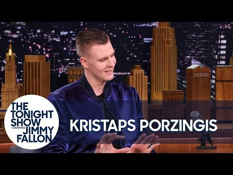Kristaps Porzingis Was Confused by Kevin Durant's Nickname for Him