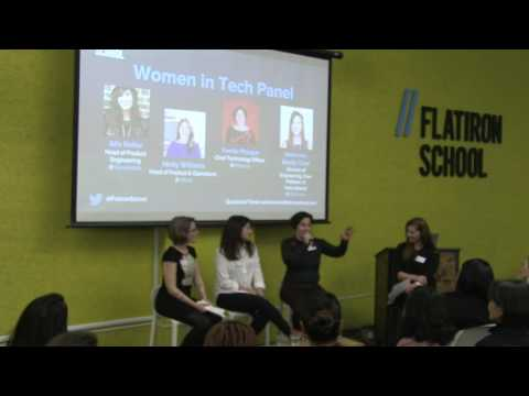 Women in Tech Panel - January 2017