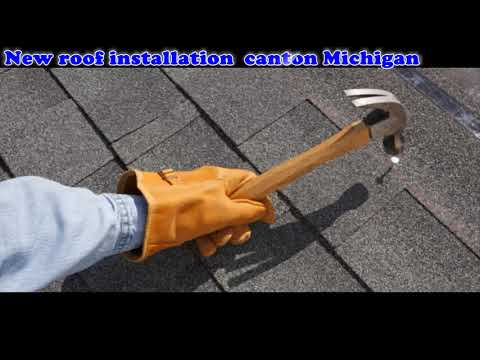 New Roof Installation Canton Michigan