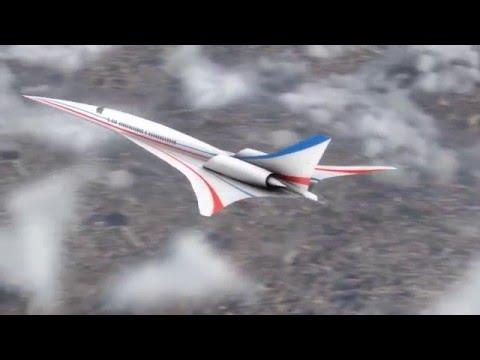 NASA espera testar o protótipo do 'novo Concorde' em breve