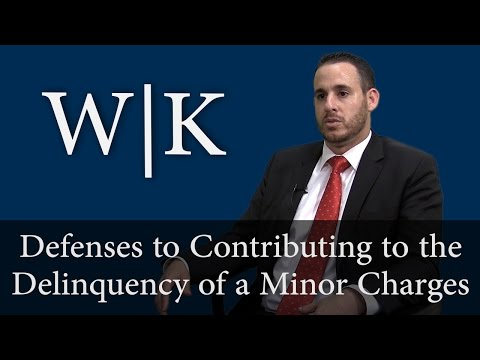 Defenses to Contributing to the Delinquency of a Minor Charges