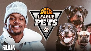 Bradley Beal's Got FIVE DOGS to Protect the Crib 🐶   SLAM League Pets