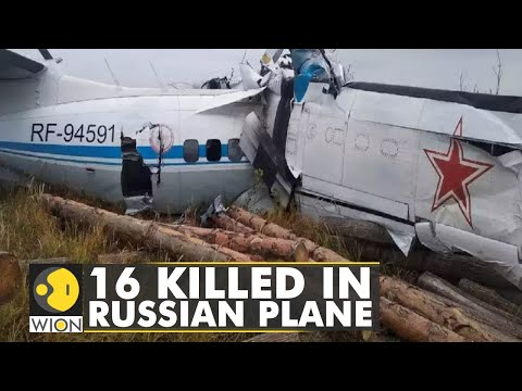 16 killed after plane crashes in Russia's Tatarstan