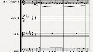 New tune hope you like it#classical#music#score#sheet