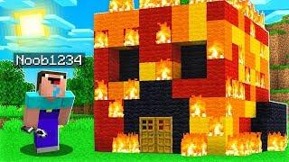 I Found the World's Most ANNOYING Minecraft Player!