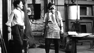 Charlie Chaplin - His New Job (1915)