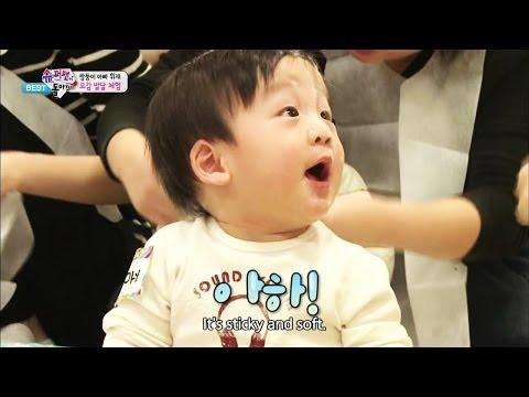 The Return of Superman - Five Senses Activities for Seoeon (2014.04.17)