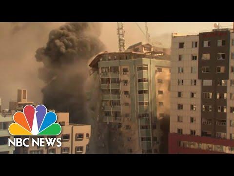 WATCH: Israeli Air Strike Destroys Gaza AP Office Building