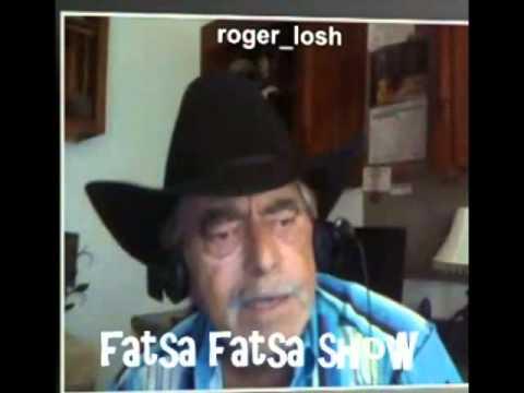 Kim Nicolaou talks to Roger Losh It's Live (pr2) Fatsa Fatsa Tv Show