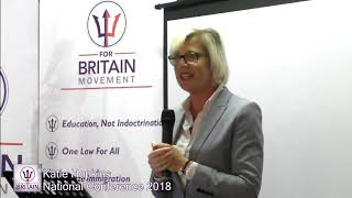 Katie Hopkins Speech at the For Britain first National Conference.