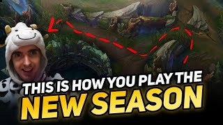 THIS IS HOW YOU PLAY THE NEW SEASON WITH MASTER YI - COWSEP