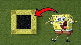 Minecraft Pe - Portal To The SpongeBob Dimension - Mcpe