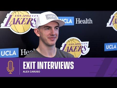 Alex Caruso   2020-21 Lakers Exit Interviews