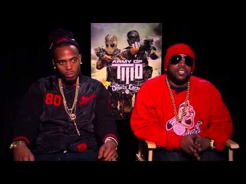 'Army of Two The Devil's Cartel' BIG BOI and B.O.B. Video Game Interview