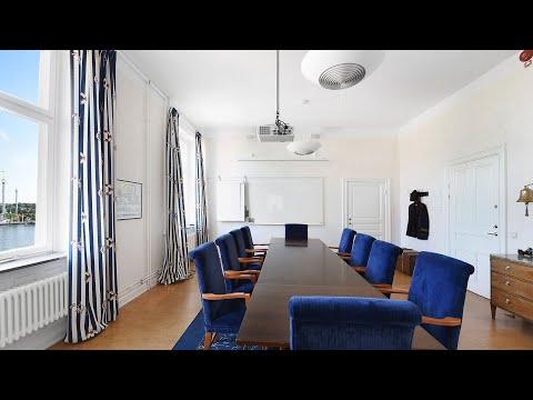 Kaptensrummet på Ersta konferens & hotell – styrelsesittning