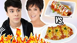 i only made KRIS JENNER RECIPES for a day