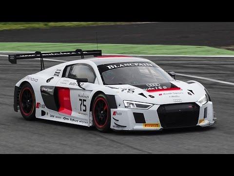 Audi R8 LMS GT3 (2016) Testing On Track