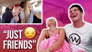 REACTING to Old Vlogs BEFORE WE DATED!!