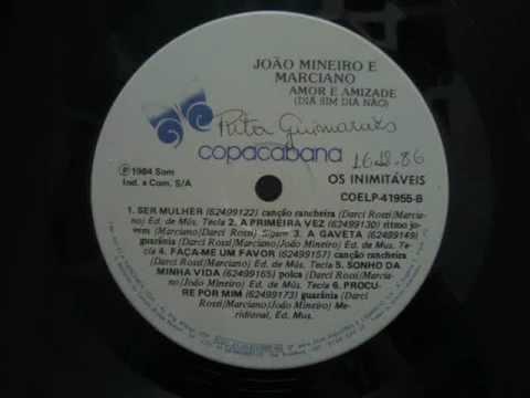 Baixar João Mineiro & Marciano - A Primeira Vez (LP/1984, gravado de: 1986)