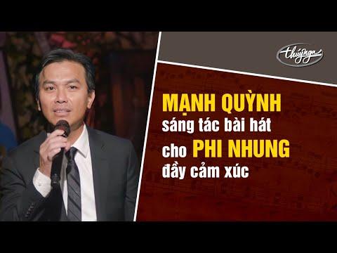 Mạnh Quỳnh sáng tác bài hát cho Phi Nhung đầy cảm xúc